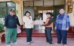 BPBD Kalteng Beri Bantuan Susu Kaleng untuk SMAN 5 Palangka Raya