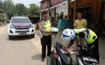 Satlantas Polres Gunung Mas Gelar Razia Kendaraan untuk Tekan Angka Kecelakaan Lalu Lintas