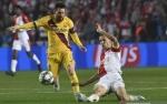 Messi Ukir Rekor Baru Liga Champions Saat Barcelona Taklukkan Slavia