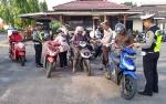 38 Pengendara Terjaring di Hari Pertama Operasi Zebra Telabang di Barito Selatan