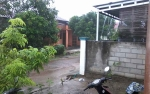 Sejumlah Jalan Tergenang di Kasongan Setelah Diguyur Hujan Lebat