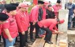 Harsto Kristiyanto Pimpin Peletakan Batu Pertama Pembangunan Kantor DPD PDIP Kalteng