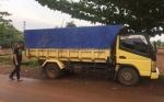 Polisi Tangkap Sopir Truk Pembawa 535 Potong Kayu Meranti Olahan Tanpa Dukumen