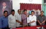 Daftar ke Gerindra, Bakal Calon Bupati Kotim HM Jhon Krisli Sebut Akan Bagikan Alat Berat Jika Jadi Bupati
