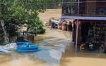 Rumah Warga 2 Desa di Kecamatan Mandau Talawang Terendam Banjir