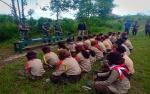 Prajurit Yonif 631 Antang Beri Pelatihan kepada Anggota Pramuka
