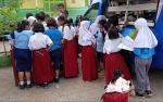 Mobil Perpustakaan Rutin Kunjungi Sekolah di Seruyan