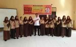 KPU Seruyan Kembali Sambangi Sekolah Sosialisasi Rumah Pintar Pemilu