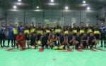 Laga Eksekutif Vs PWI Lamandau Warnai Malam Final Futsal Bupati Cup 2019