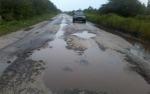 Kerusakan Jalan Petak Bahandang - Baun Bango Makin Parah