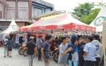 Peddock Area Jadi Wisata Otomotif Pada Event Road Race di Sampit