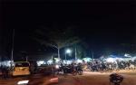 Taman Kota Kuala Kurun Dipadati Warga Setiap Malam Minggu