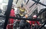 Video Rumah Kosong Hangus Terbakar di Jalan Domba, Pangkalan Bun