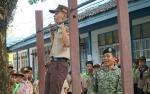 Kodim 1011 Kuala Kapuas Terus Sosialisasikan Penerimaan Calon TNI kepada Siswa