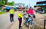 Satlantas Polres Barito Utara Keluarkan 497 Surat Tilang Selama Operasi Zebra Telabang 2019