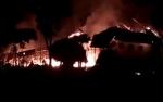 Video Amatir Kebakaran Hanguskan Bangunan SMPN 4 Pangkalan Banteng