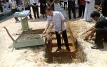 Bupati Gunung Mas Hadiri Peresmian Pembangunan TPA PAUD Santo Yosep Kuala Kurun