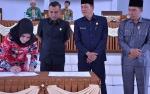 Pemkab dan DPRD Setujui Raperda APBD Seruyan 2020