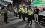 Polsek Pahandut Lakukan Pengamanan di Pasar Besar