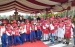 Peringatan Hari Anak Nasional Digelar di Halaman Kantor Gubernur Kalteng