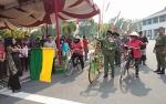 Yulistra Ivo Azhari Sugianto Sabran Lepas Komunitas Sepeda di Hari Anak Nasional