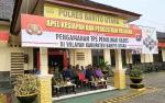 Wakil Bupati Barito Utara Ingatkan Personel Pengaman Pilkades Jaga Komunikasi, Kekompakan dan Solidaritas