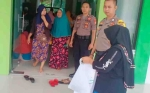 Polsek Katingan Kuala Laksanakan Pengamanan Pembagian Kartu Keluarga Sejahtera dan BPNT