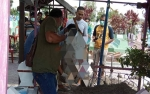 Makam 2 Nelayan Asal Mendawai Digali, Otopsi Digelar di Pemakaman Sekip