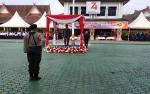 Wakil Bupati Pimpin Upacara Hari Pahlawan di Polres Barito Utara