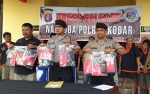 Polres Kobar Tangkap 9 Tersangka dan Sita 39 Paket Sabu