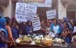 Pedagang Pasar di Solo Gelar Syukuran Kelahiran Cucu Presiden Jokowi