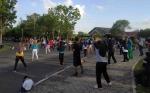Senam Sehat CFD Diminati Warga Kuala Pembuang