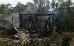 Kebakaran Hanguskan Rumah Warga di Desa Sei Lunuk Kapuas