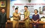 Bupati Barito Utara Terima DIPA dan TKDD 2020 dari Gubernur Kalteng