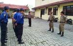 Satbinmas Polres Kapuas Juga Berikan Pelatihan Baris Berbaris kepada Personel Satpol PP