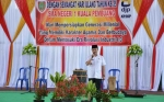 Bupati Seruyan Berikan Motivasi saat Hadiri Puncak HUT SMAN 1 Kuala Pembuang