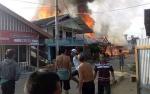 13 Rumah dan 2 Gedung Walet Terbakar di Desa Mangkahui