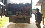 Anggota Polres Barito Utara Amankan 2 Sopir Truk Pengangkut Kayu Ilegal