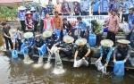 Bupati Barito Utara: Penebaran Bibit Ikan Untuk Nambah Stok Tangkapan