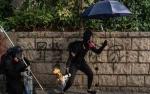 Demo Hong Kong, Bocah 12 Tahun Dihukum