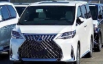Lexus Bergaya Toyota Alphard Siap Dijual, Simak Kemewahannya