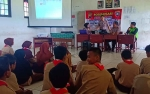 Cegah Penyalahgunaan Obat Terlarang, Satbinmas Polresta Palangka Raya Gelar Sosialisasi di Sekolah