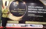 Susur Sungai Sekonyer Peringkat 3 Terpopuler, Kobar Terima Penghargaan Anugerah Pesona Indonesia