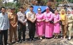 Polsek Murung dan Bhayangkari Serahkan Bantuan untuk Korban Kebakaran di Desa Mangkahui