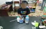Pengedar Sabu Ini Diamankan di Lahan Parkir Hotel Muara Teweh