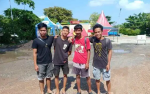 Atlet Panjat Tebing Gunung Mas Ikut Bouldering Contest Region Kalimantan