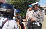 Anggota Polres Murung Raya Gelar Razia Jelang Operasi Lilin 2019
