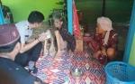 Polsek Jaya Karya Bersama Muspika Makan Bersama di Rumah Nenek Mulia