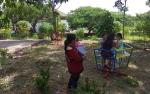 Disdukcapil Seruyan Sediakan Fasilitas TamanBermain Anak