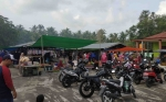 Pasar MingguSeberang Jadi Lokasi Wisata Kuliner Warga Kuala Pembuang